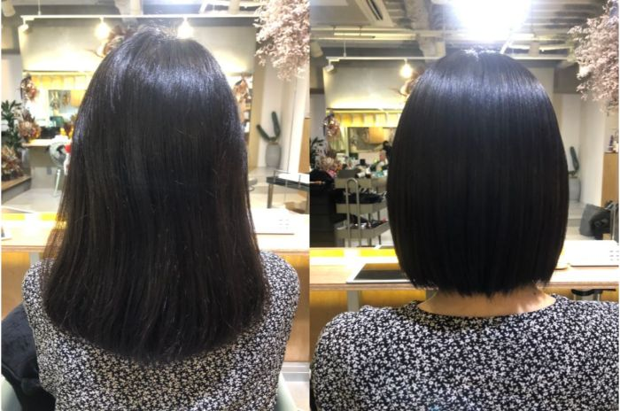 滋賀県守山市でフリーランス美容師をしているアオキアリサ青木愛里彩の縮毛矯正